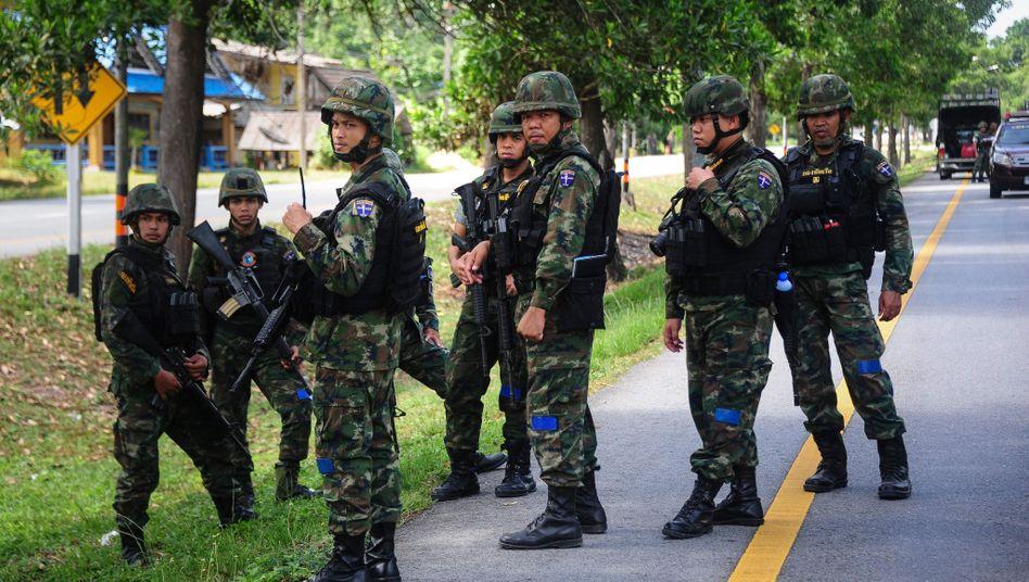 Soldaten am Tatort