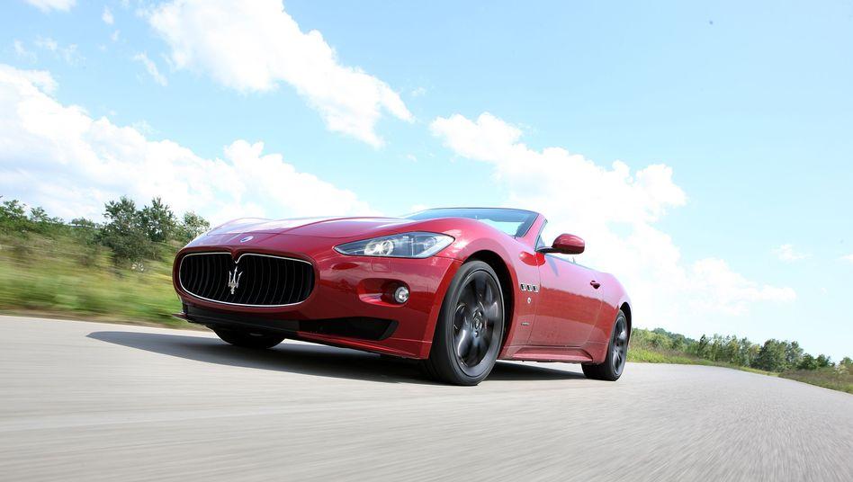 Maserati im Test: Luxus-Auto mit Unterhaltsgeld finanziert