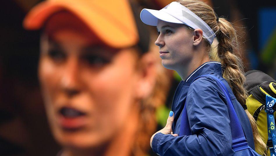 Caroline Wozniacki wird mindestens ein weiteres Match in Melbourne spielen