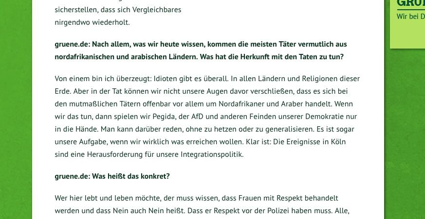 EINMALIGE VERWENDUNG Zitat Interview Özdemir / gruene.de / neu