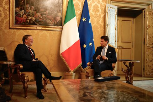 Laschet bei Italiens Ministerpräsident Conte