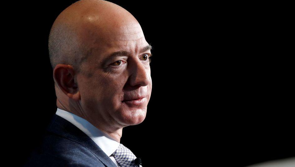 """Amazon-Gründer Bezos: """"Ergebnis unangemessenen Drucks"""""""