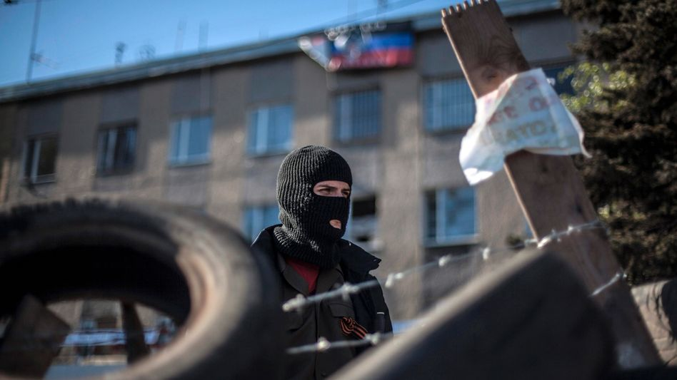 Kämpfer in Horliwka: Separatisten stürmen weitere Regierungsgebäude