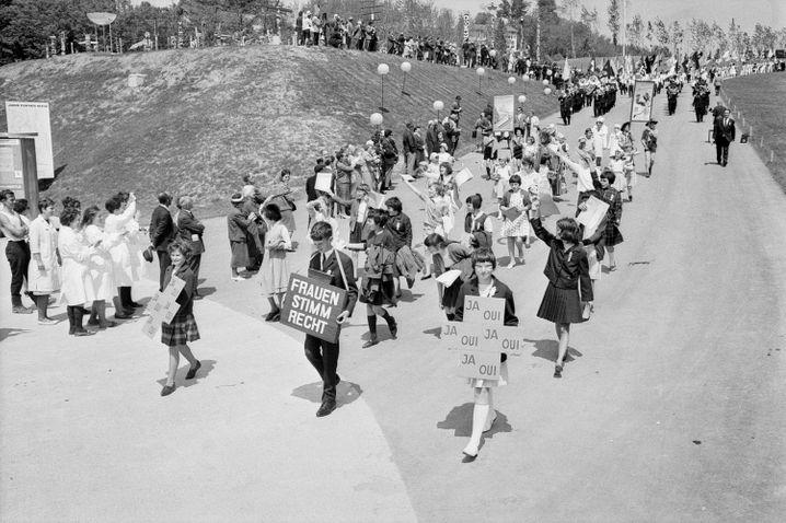 Demo 1964 in Lausanne: Die Frauen verloren die Geduld und wurden offensiver