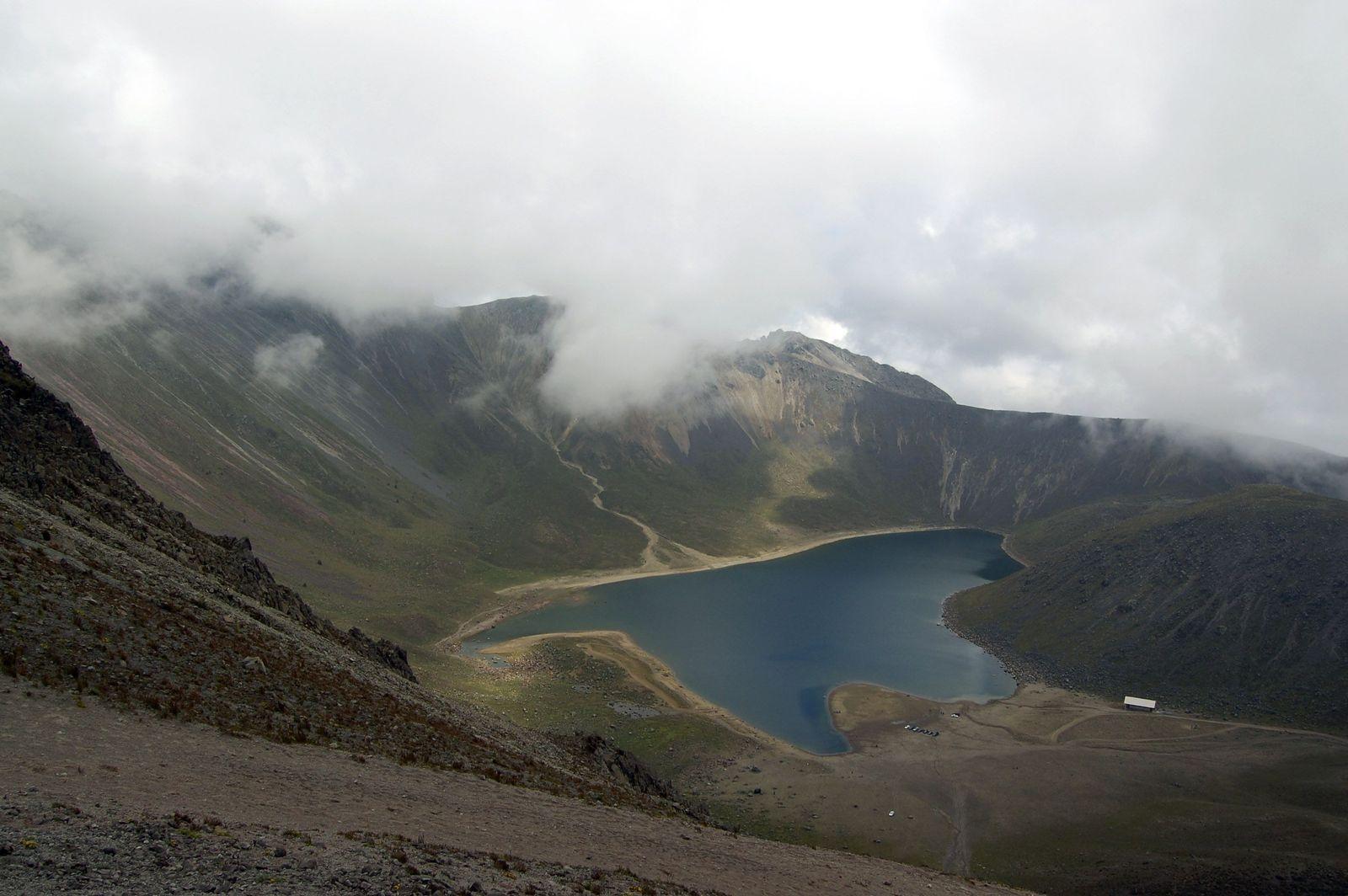Ausgegraben/ Nevado de Toluca Mexico