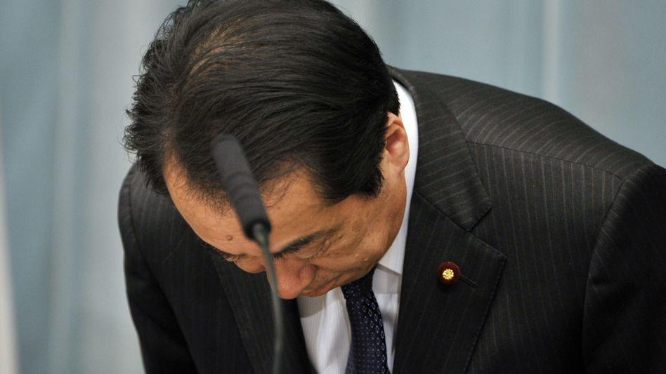 Japans Premier Naoto Kan: Verzicht auf Gehalt