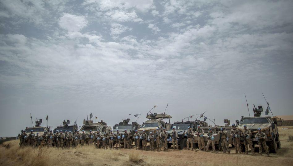 Deutsche Soldaten in Mali (Archivbild)