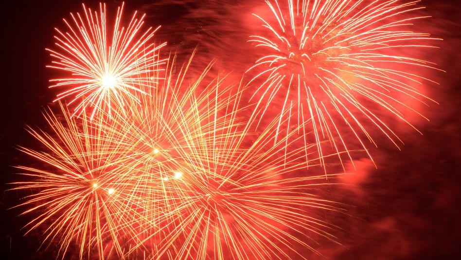 Feuerwerk: Auf vielen pazifischen Inseln ist bereits 2013