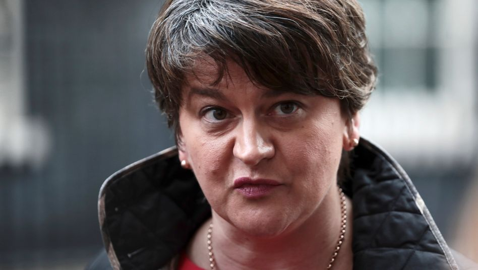 Nordirische Regierungschefin Arlene Foster