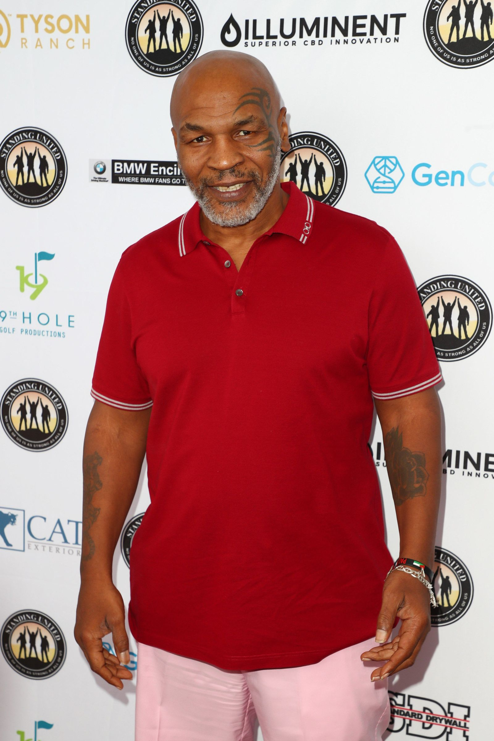 US-MIKE-TYSON-CELEBRITY-GOLF-TOURNAMENT-IN-SUPPORT-OF-STANDING-U