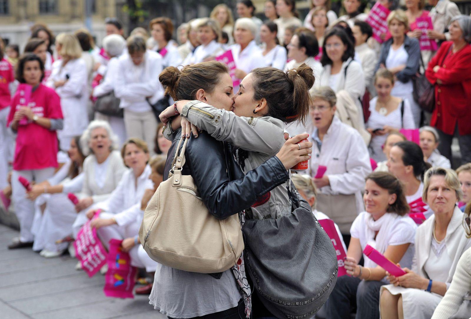 Homosexuelle / Frankreich / Homo-Ehe