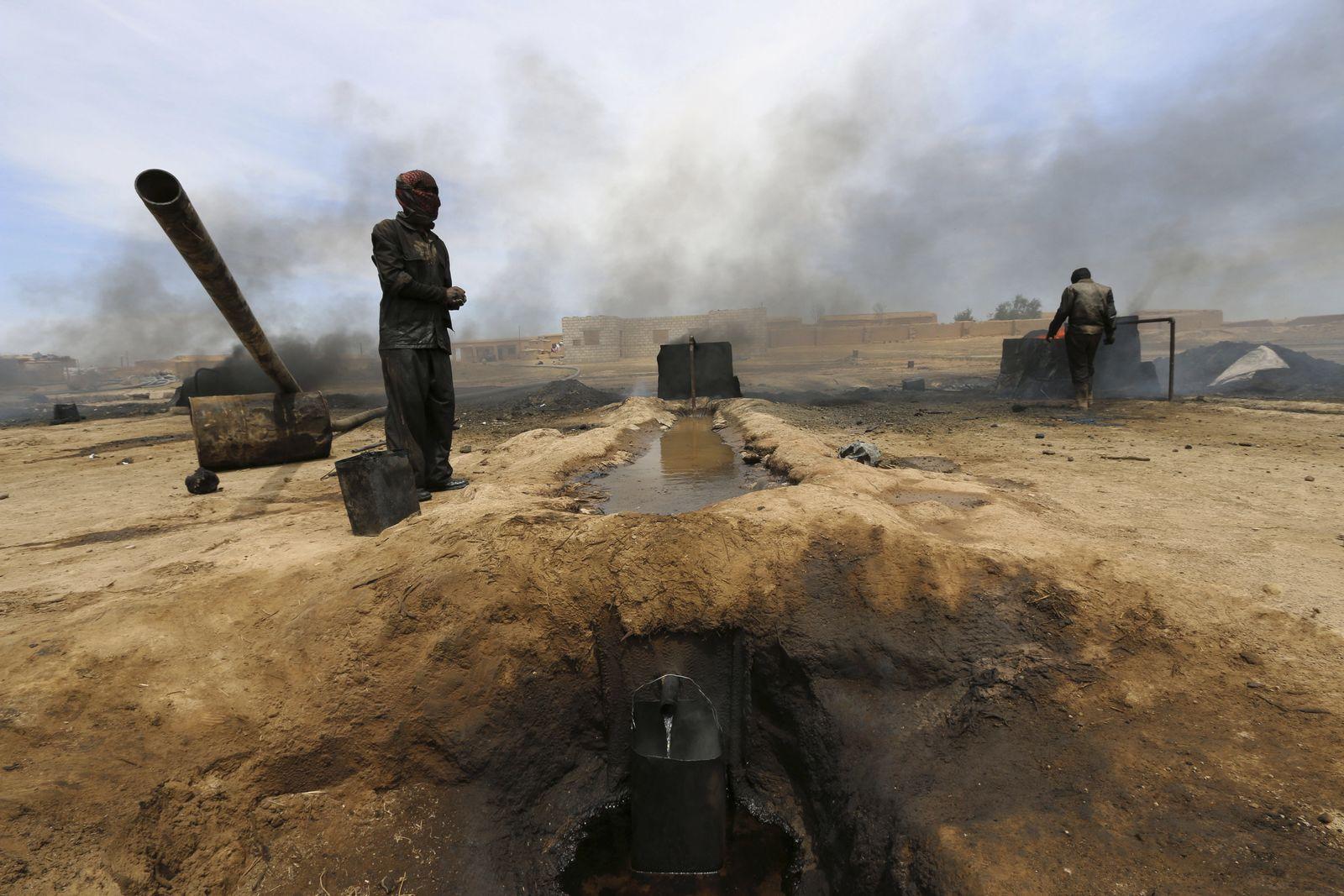 Syrien/ Öl