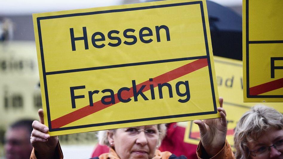 Protest gegen Gasförderung Angst vor Gift im Trinkwasser
