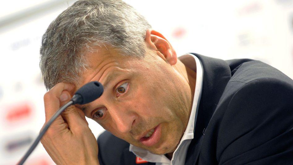 Hertha-Coach Favre: Erklärungsnot nach der Blamage in Hoffenheim