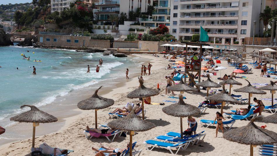 Strandurlaub in Palma de Mallorca: laut Bareiß wohl bald wieder möglich