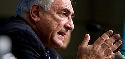 """IWF-Chef Strauss-Kahn: """"Haben die Wucht der Finanzkrise unterschätzt"""""""