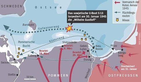 """Untergang der """"Wilhelm Gustloff"""": Die Flucht übers Meer war für viele die letzte Hoffnung"""