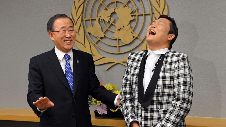 Ban Ki Moon: Ein bisschen Spaß muss sein