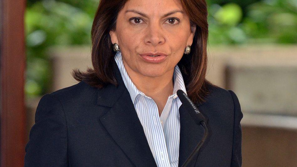 Costa Ricas Präsidentin Laura Chinchilla: Unterschrieben ist unterschrieben