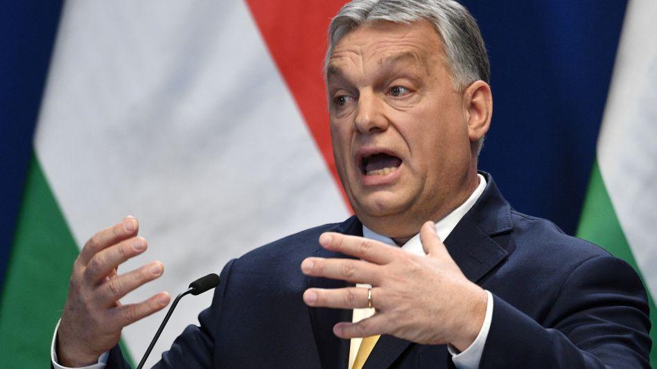 Premier Viktor Orbán: Sonderrechte werden durch die Hintertür wieder eingeführt
