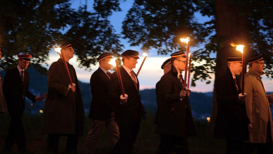 Fackelzug in Eisenach: Strategie der Provokation
