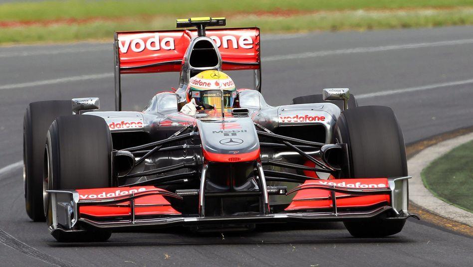Formel-1-Pilot Hamilton: Schnellster im freien Training