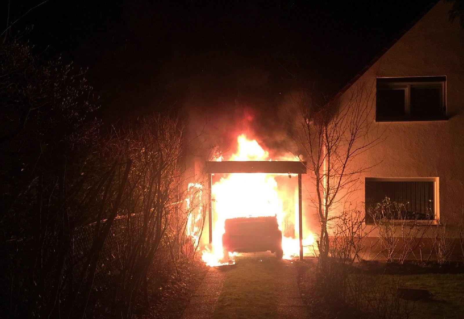 Brandanschläge auf Autos in Berlin-Neukölln