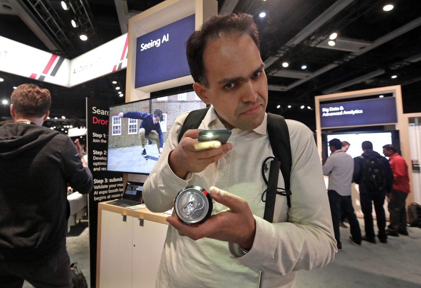 Microsoft / Saqib Shaikh