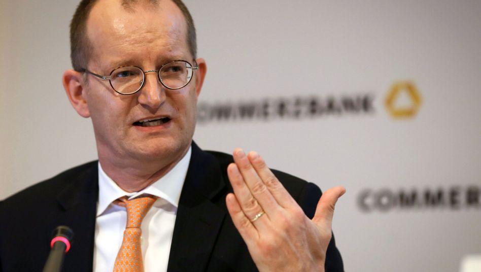 Commerzbank-Chef Martin Zielke: Operatives Ergebnis 2016 unter dem Vorjahr