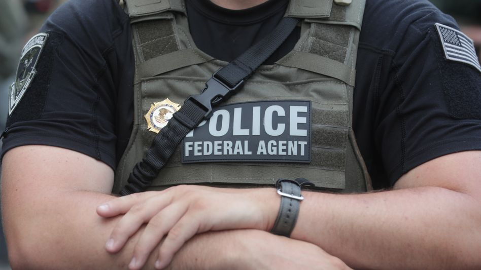 US-Polizist (Symbolfoto)