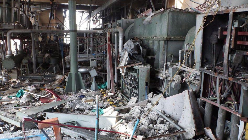 Anlage von Fukushima Daiichi im Juni: Wann die Schäden beseitigt sind, ist unklar