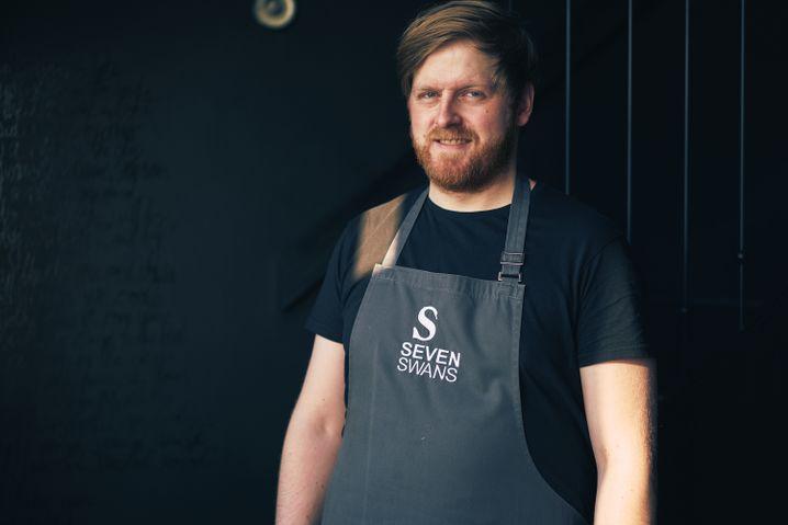 Küchenchef Ricky Saward