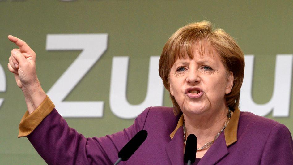 "Merkel: ""Der Fiskalpakt ist nicht verhandelbar"""
