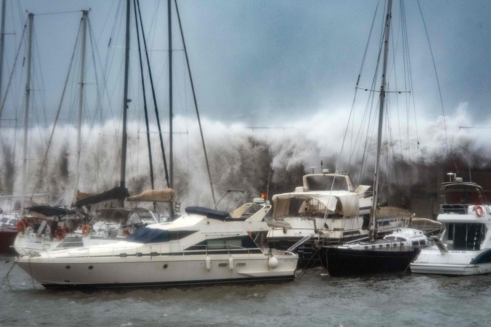 TOPSHOT-SPAIN-WEATHER-CLIMATE-STORM-GLORIA