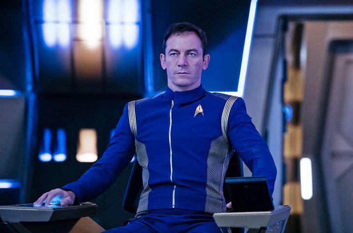 "Jason Isaacs als Captain Gabriel Lorca in ""Star Trek: Discovery"""