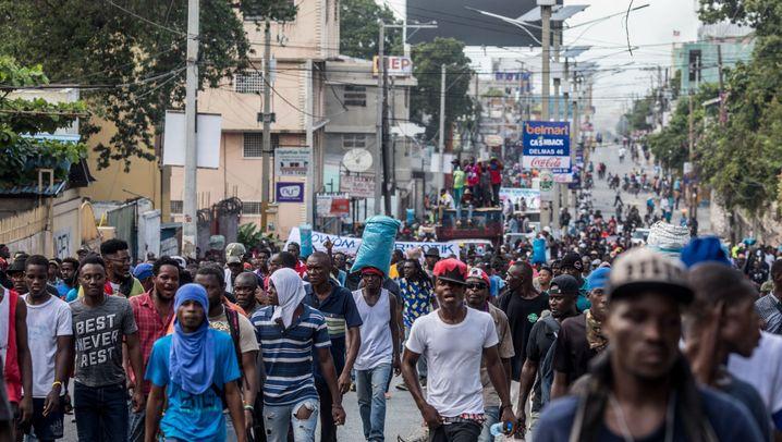 Proteste in Haiti: Die Gewalt der Straße