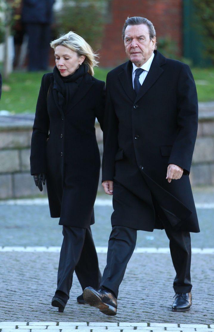 Gerhard Schröder und Doris Schröder-Köpf im November 2015
