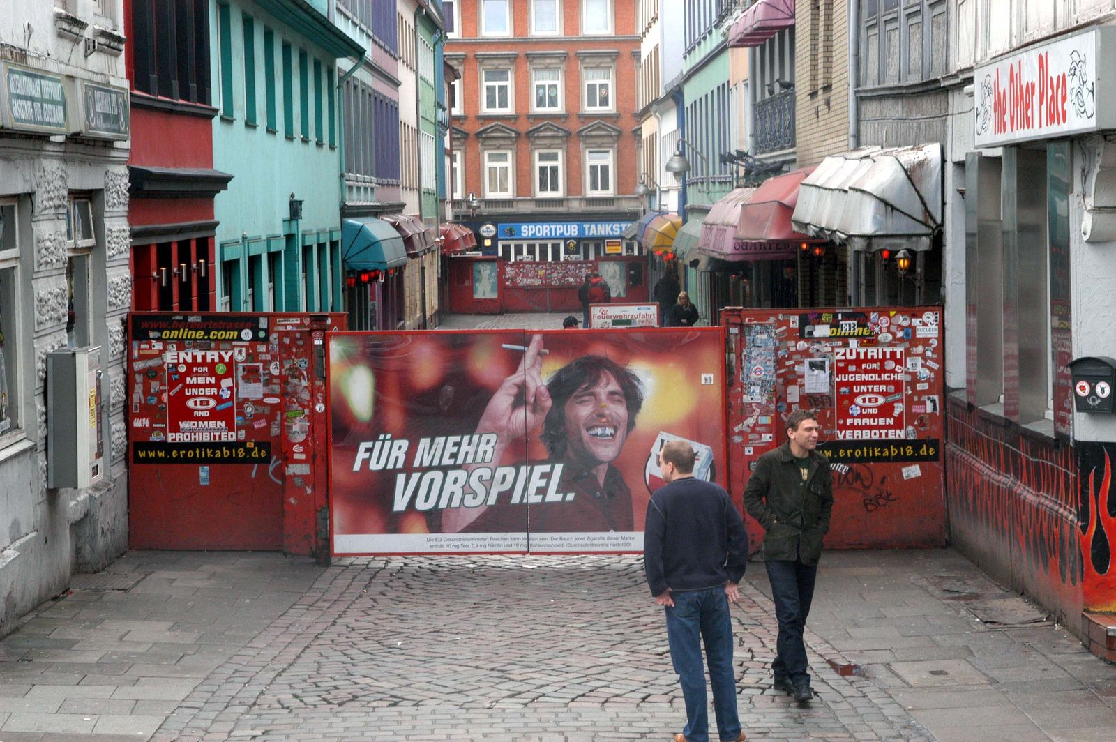 NICHT VERWENDEN Hamburg / Reeperbahn / St. Pauli / Herbertstraße / Prostitution
