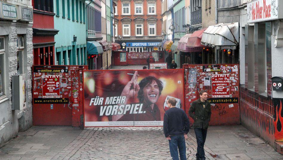 """Herbertstrasse in Hamburg: """"Ein Bordellbetrieb ist keine einem Hotel ähnliche Einrichtung"""""""