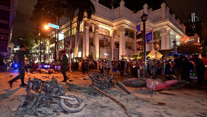 Bangkok: Explosion im Stadtzentrum