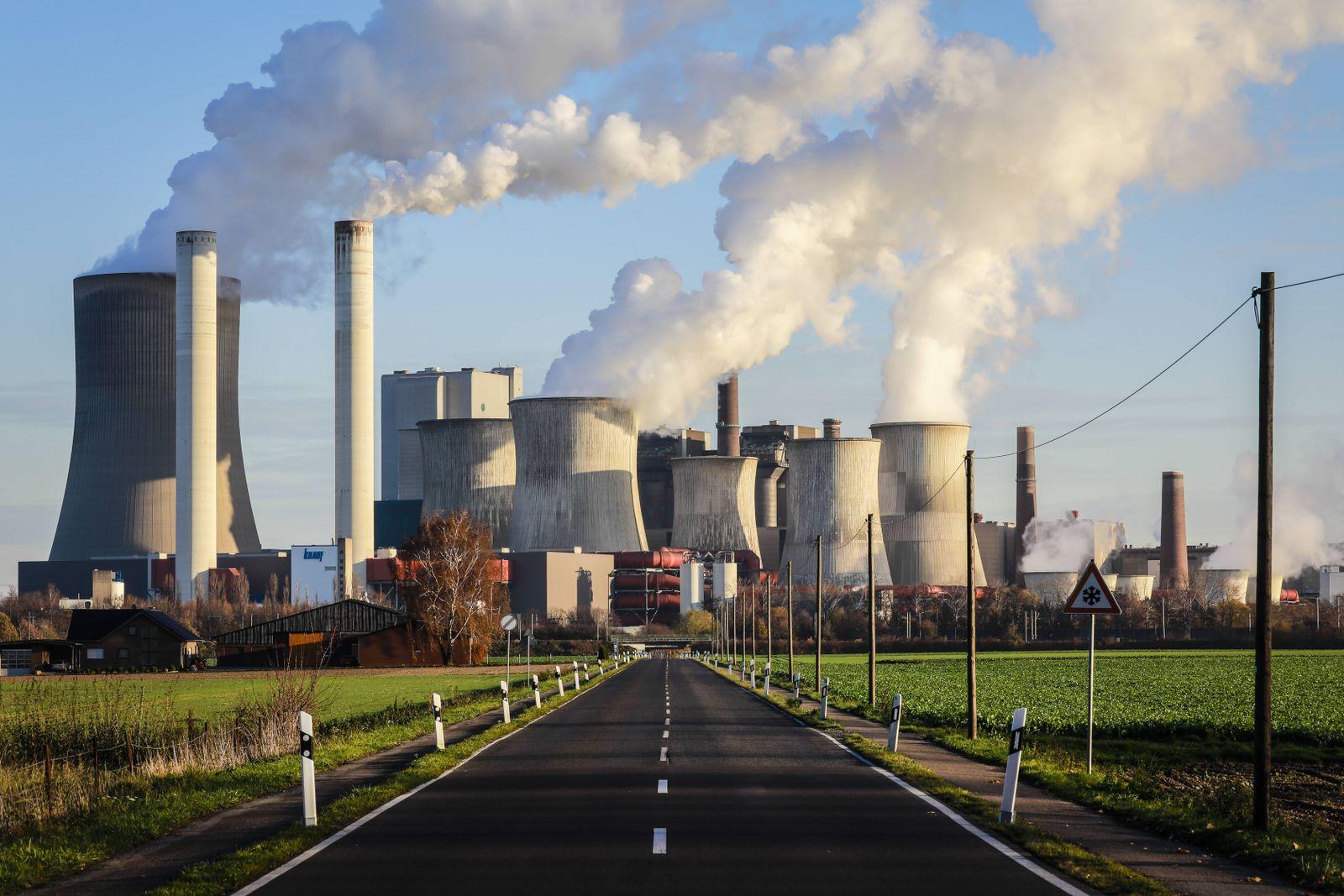 EINMALIGE VERWENDUNG Kraftwerk Niederaussem