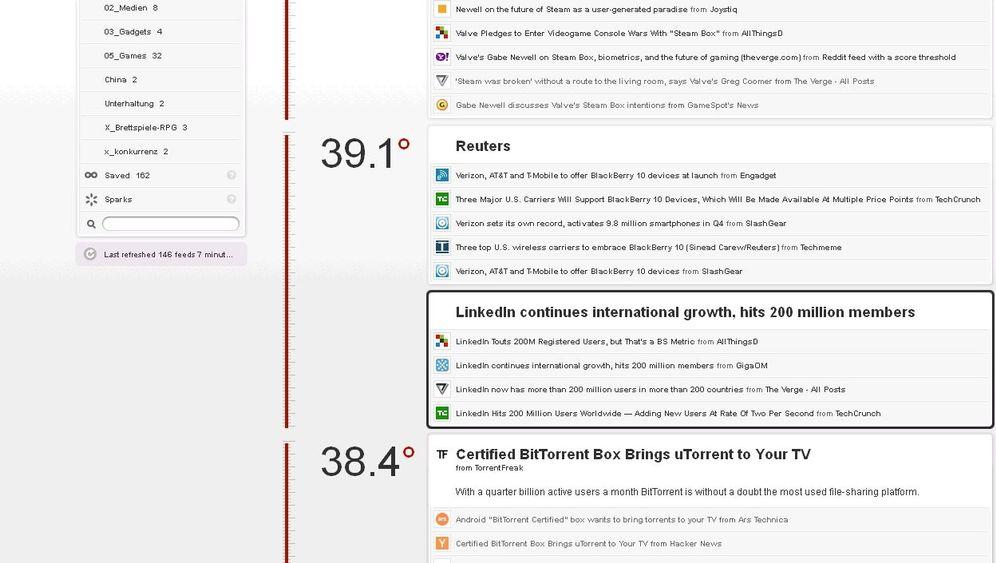 Fever: So funktioniert der elegante RSS-Reader