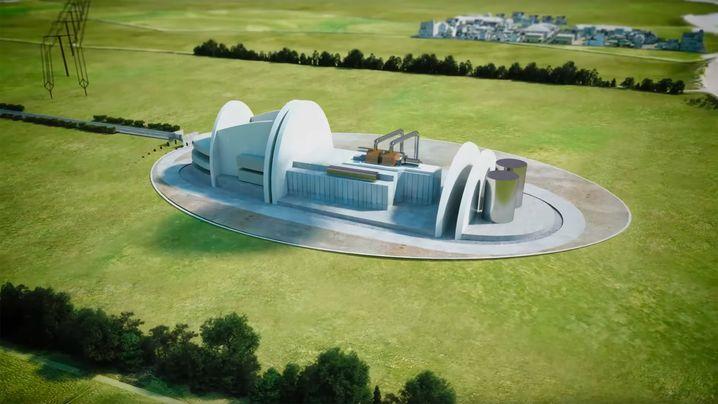 440 Megawatt soll das Atomkraftwerk von Rolls Roycs liefern – genug für eine Stadt mit einer halben Million Einwohner