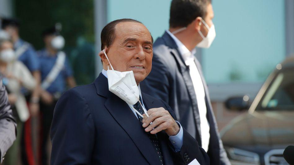 "Patient Berlusconi: Corona-Infektion ""schlimmste Erfahrung meines Lebens"""