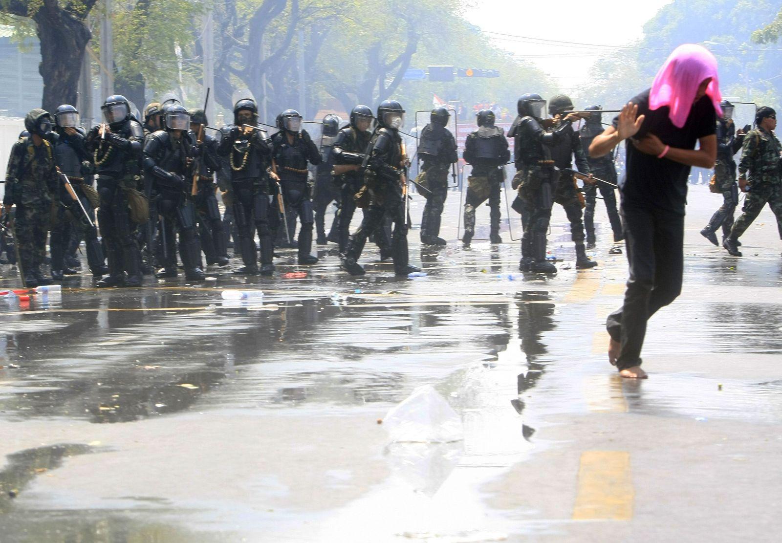 Thailand / Unruhen