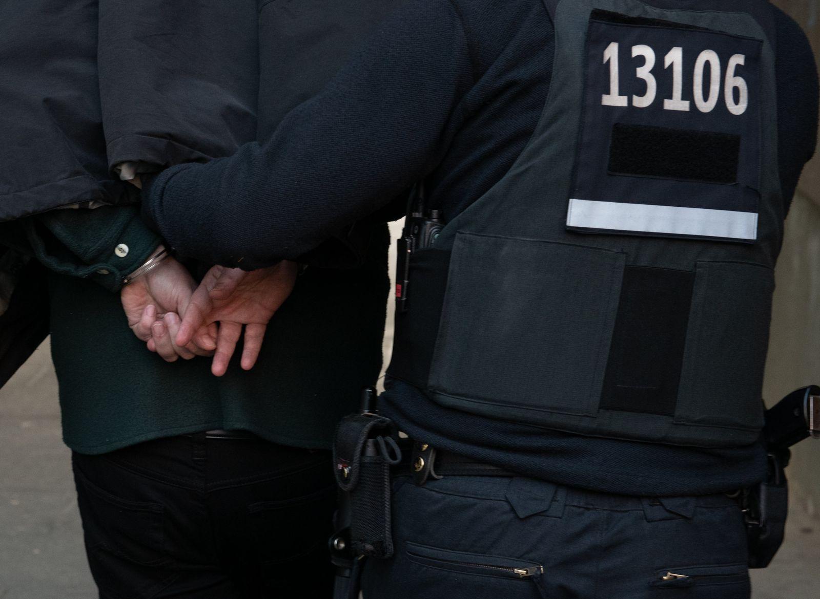 Razzia der Polizei