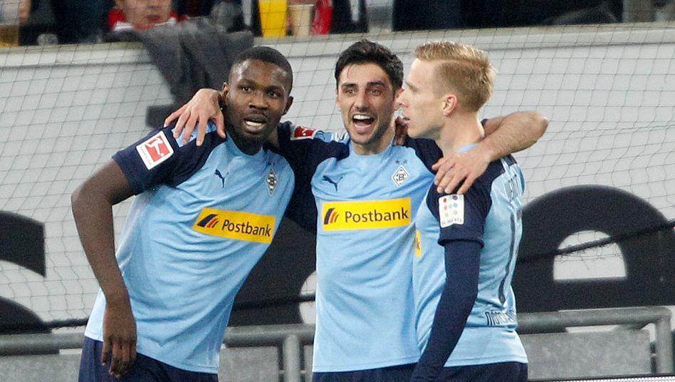 Marcus Thuram, Lars Stindl und Oscar Wendt feierten einen deutlichen Auswärtssieg