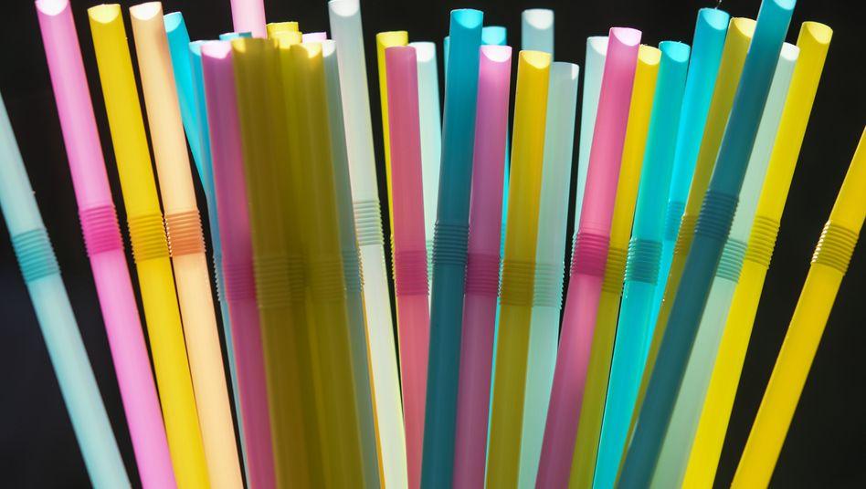 Der Verkauf von Trinkhalmen aus Plastik soll in Zukunft verboten werden
