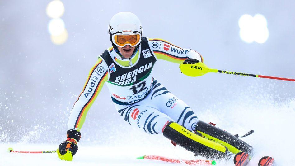 Linus Straßer, 28 Jahre, Weltcupsieger in Zagreb