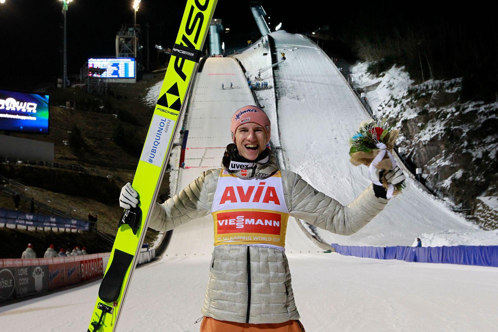 Ski Jumping World Cup in Val di Fiemme, Predazzo, Italy - 12 Jan 2020